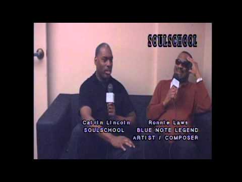 Soul School Television Interview w/Ronnie Laws - Pt. 1