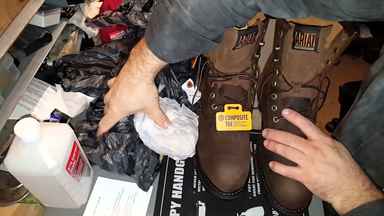 Ariat Workhog H20 8quot 110011943 Work Boots Youtube
