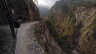 Nepal 2015 - Bus ride through Ghati and Bahrabise