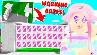 NEW WORKING GATES IN BLOXBURG! Building HACKS And TIPS! (Roblox)