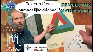 Optische illusies, teken een onmogelijke driehoek! - DWVM#14