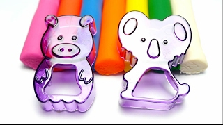 Play-Doh School - Learn English Colors with Rainbow Dough