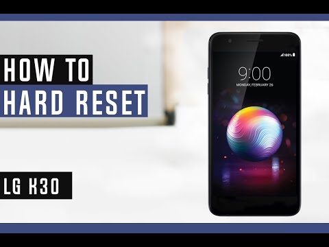 How to Restore LG K30 to Factory Settings - Hard Reset