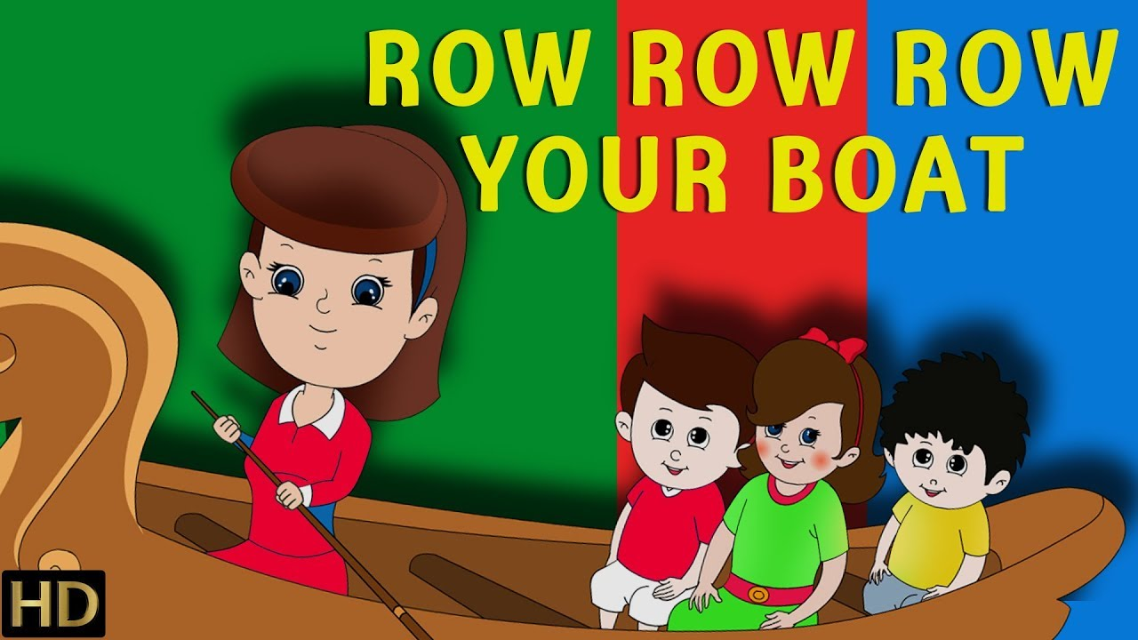 Row Row Row Your Boat (HD) | Nursery Rhymes Collection ...