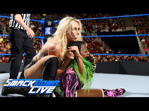 Charlotte Flair vs. Naomi: SmackDown LIVE, April 18, 2017