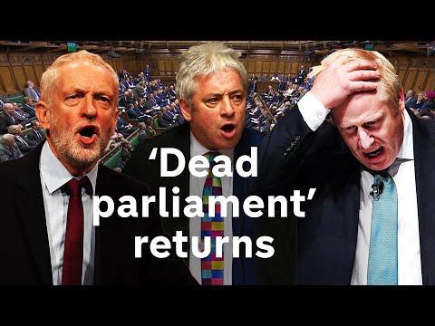 Boris Johnson starts the political fight of his life | Brexit