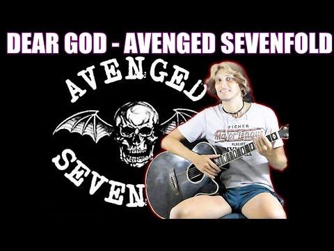 Avenged Sevenfold - Dear God [FINGERSTYLE GUITAR + TABS FREE] Acoustic Guitar