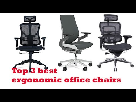 the top 3 best ergonomic office chairs to buy 2017 | ergonomic