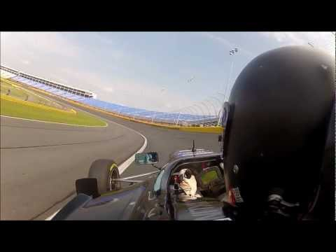 STOHR F1000 # 81 Qualifying Lap - Charlotte Motor Speedway SCCA Road Course 2012