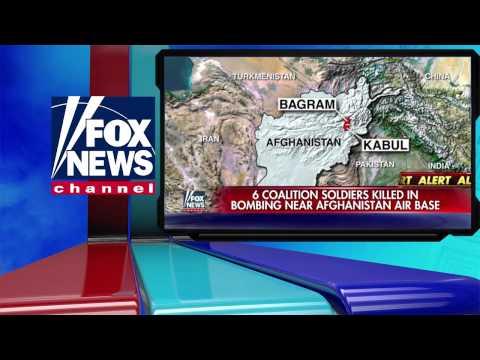 6 US Troops killed in Afghanistan Bagram Air Base Suicide Bombing