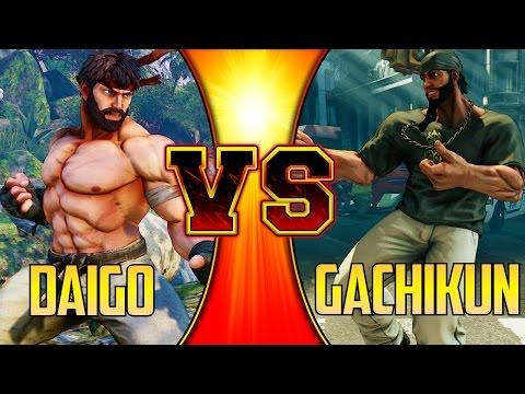 SFV S2 ▰ Daigo Umehara Vs Gachikun FT5【First To 5】Street Fighter V / 5