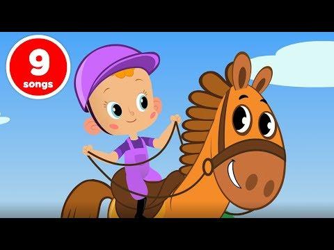 Привет, Малыш! Большой сборник - развивающие мультфильмы и песенки для детей