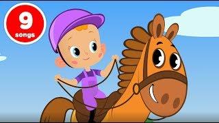 Привет Малыш Большой сборник развивающие мультфильмы и песенки для детей