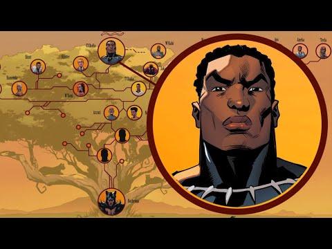 Black Panther's Royal Family Tree