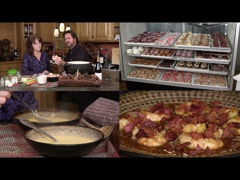 Shrimp Bisque, Ale-8-One Bacon Shrimp, B's Bakery & Connor Thomas (Episode #503)