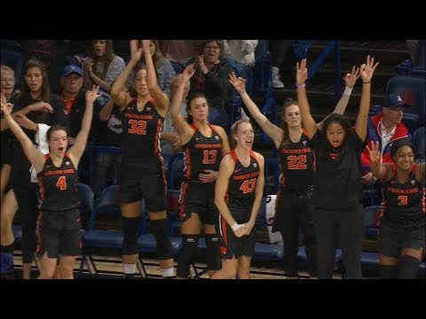 Oregon State Beavers - Beavers top Arizona 63-61! Nation's #1 team?