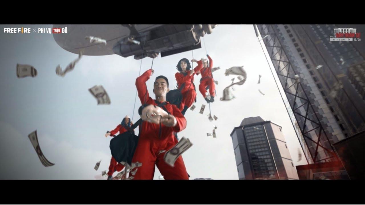 [Live-action] Free Fire x Phi Vụ Triệu Đô: Money Heist | Garena Free Fire Vietnam