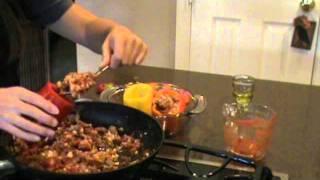 Stuffed Bell Peppers - Gluten Free & Dairy Free