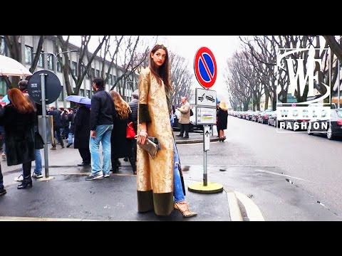 Street Style Milan Fashion Week Youtube