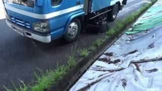 中古トラック 平成17年式 豊和工業 路面清掃車・ストリートスイーパ HA75 各種作動とサブEG!