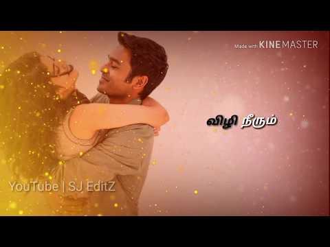 Maruvarthai Pesathe Whatsapp Status | Female Version | Dhanush | Tamil Lovely ¦ Love Cut Song