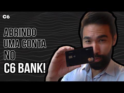 BANCO C6 BANK É BOM? BANCO C6 BANK ABRIR CONTA e PEDIR CARTAO C6 BANK!