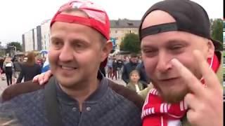 «Спасибо, Игорёк!»: как в Калининграде наблюдали за историческим матчем Россия-Испания