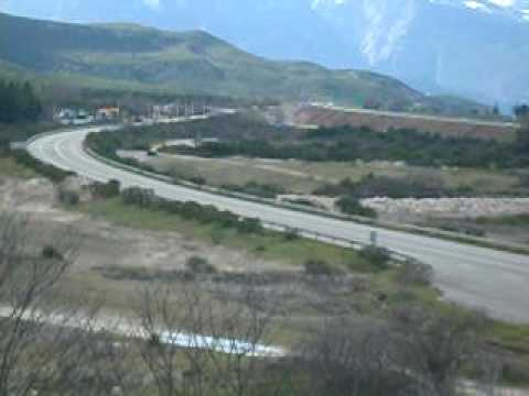 The Battlefield and Memorial at Thermopylae Today - YouTube