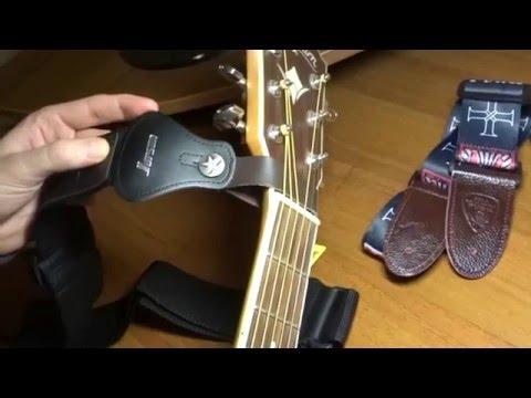 Ремень для гитары с крючком