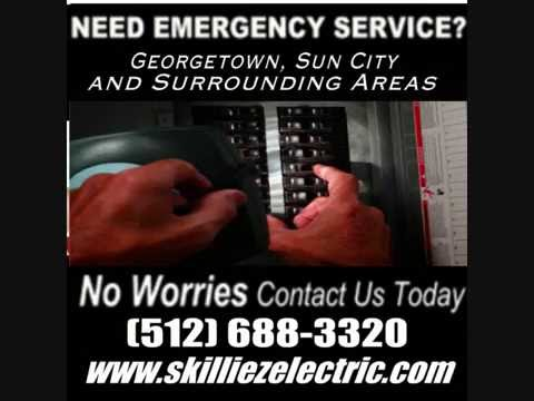 Skilliez Electric | Electrician Georgetown Tx  | (512) 688-3320