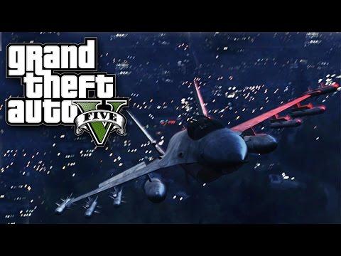 KRADEMO KABRIO I AVIONE ! Grand Theft Auto V - Missions W/ CALE