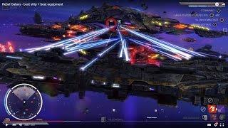 Rebel Galaxy - best ship + best equipment