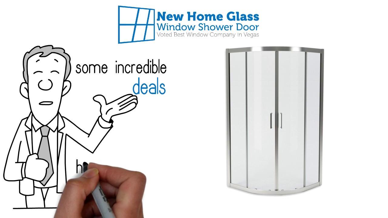 New Home Glass Window Shower Door Replacement Summerlin Las Vegas Nevada