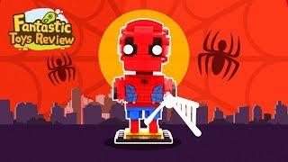 Building Blocks of Marvel Comics-Spider-Man丨Fantastic Toys Review
