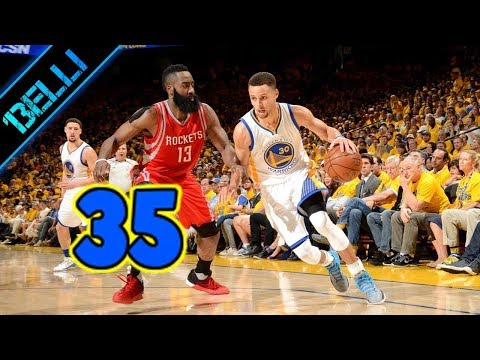 "Steph Curry ""QUESTA E' CASA MIA!"" 35 Punti G3 Playoffs 2018 vs Rockets (Live🎙F.Tranquillo)"