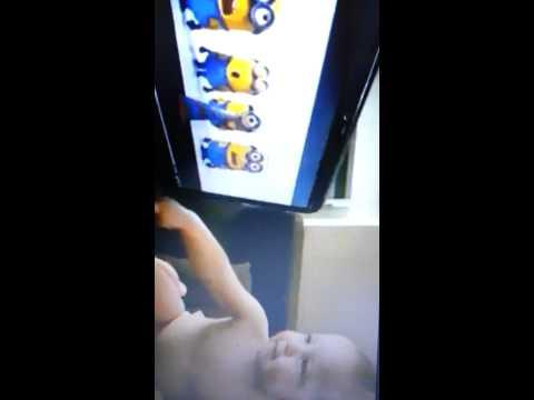 Hannah banana singing with minions