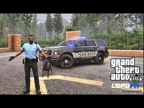 GTA 5 LSPDFR 0.3.1 - EPiSODE 394  - LET'S BE COPS - PALETO K9 PATROL (GTA 5 REAL LIFE POLICE MOD)