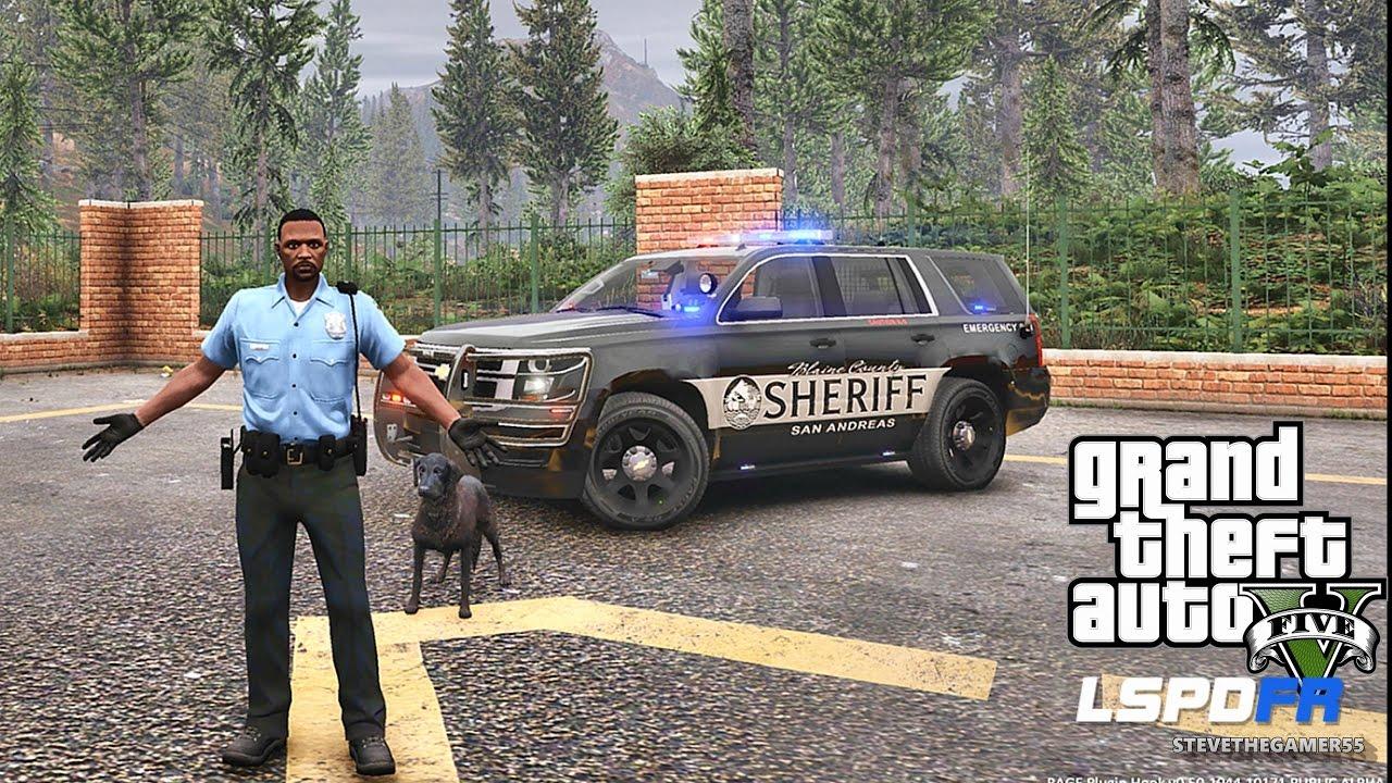 GTA 5 LSPDFR 0 3 1 - EPiSODE 394 - LET'S BE COPS - PALETO K9 PATROL (GTA 5  REAL LIFE POLICE MOD)