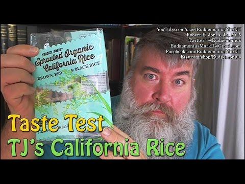 Taste Test - CALIFORNIA BROWN RICE - Day 16706