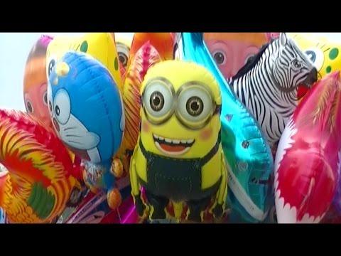 Balonku Ada Lima - Balloons Minion, Doraemon, Nemo, Shark, Spongebob, Ipin Upin - Balon Karakter: Balonku Ada Lima - Balloons Minion, Doraemon, Nemo, Shark, Spongebob, Ipin Upin - Balon Karakter. Balon Mainan Anak-anak Kecil, Lagu Balonku Ada Lima, Balloons Minion, Doraemon, Nemo, Shark, Spongebob, Ipin Upin - Balon Karakter
