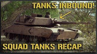 SQUAD TANKS INBOUND! - May 2018 JoinSquad Squad Gameplay Recap