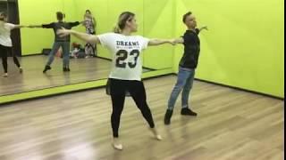 Свадебный танец (Ольга и Олег). Процесс урока.
