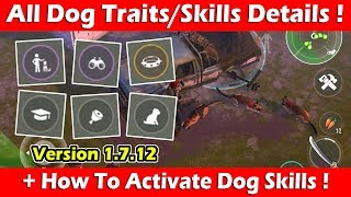 All Dog Traits/Skills + How To Activate Dog Traits (1.7.12) ! Last Day On Earth Survival