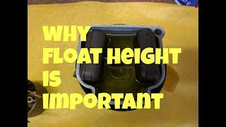 Why float height is important