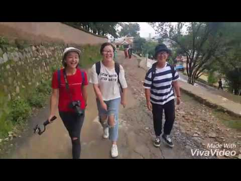 Hiking to Kopan Monastery