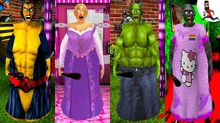 All the Mods of Granny ► by Abegi Jo ► Wolverine (Superheroes) ►  The evolution №29
