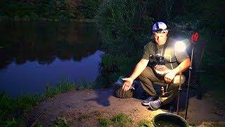 Ночная рыбалка на донку резинку! Ловля карася как в детстве! +КОНКУРС!
