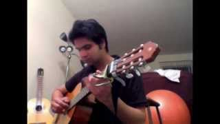 Aate Jaate maine pyar kiya Fingerstyle Guitar