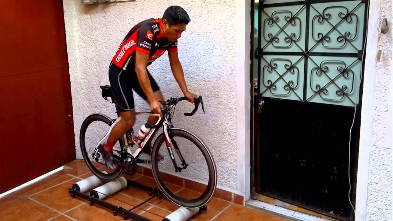 Rodillos de rulos ciclismo entrenamiento youtube - Rodillo para lacar ...