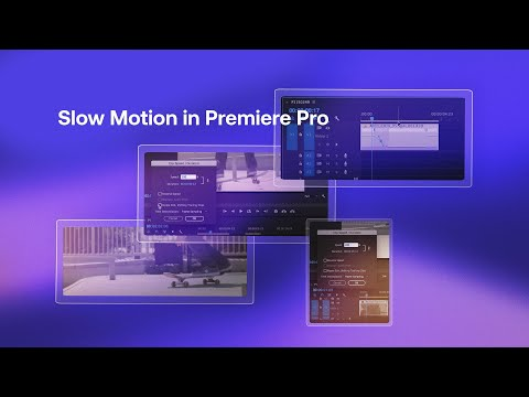 How To Get Slow Motion, Speed Ramping, And Frame Holding In Premiere Pro - Premiere Pro Tutorial